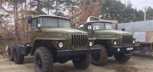 Урал 4320 с ямз 236