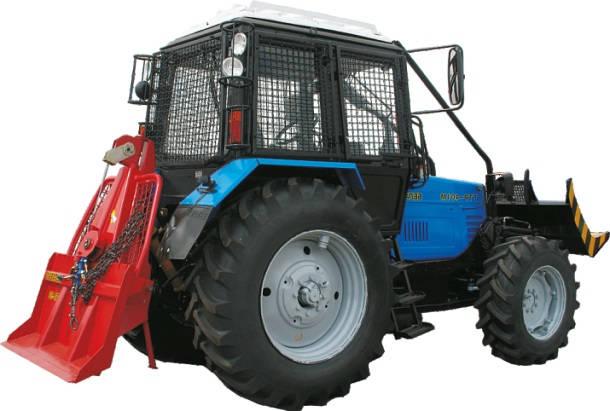 трактор ТТР 401М