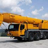 Применение гуська на автокране 100 тонн