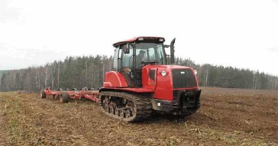 Гусеничный трактор МТЗ Беларус
