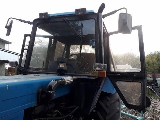 Выхлопная труба на трактор МТЗ-892