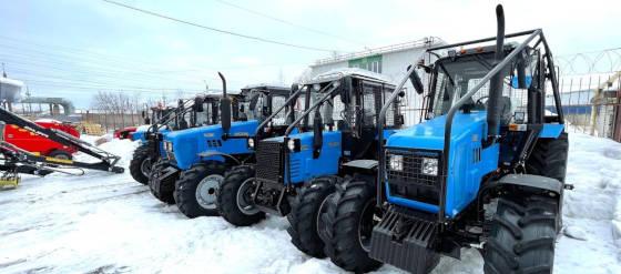 Как защитить трактор Беларус для работы в лесу