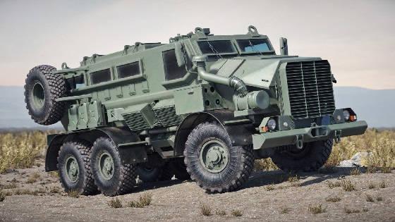 Casspir Mk 6