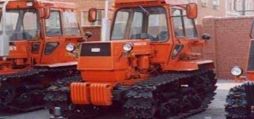 Трактор ЛТЗ-60 на гусеничном ходу