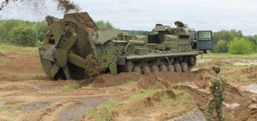 Землеройная машина для отрывки котлованов МДК-3