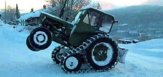 полугусеничный ход для трактора МТЗ 80