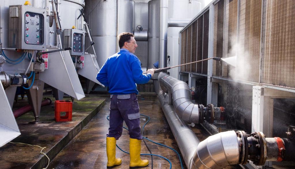 Очистка теплообменного оборудования