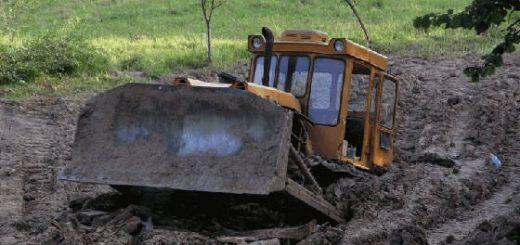 Укрепление почвы для заезда спецтехники на стройплощадку