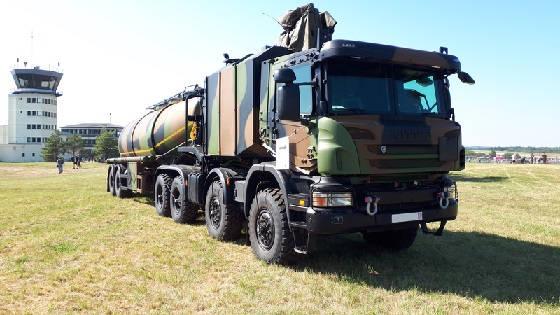 Бронированный тягач Scania CaRaPACE