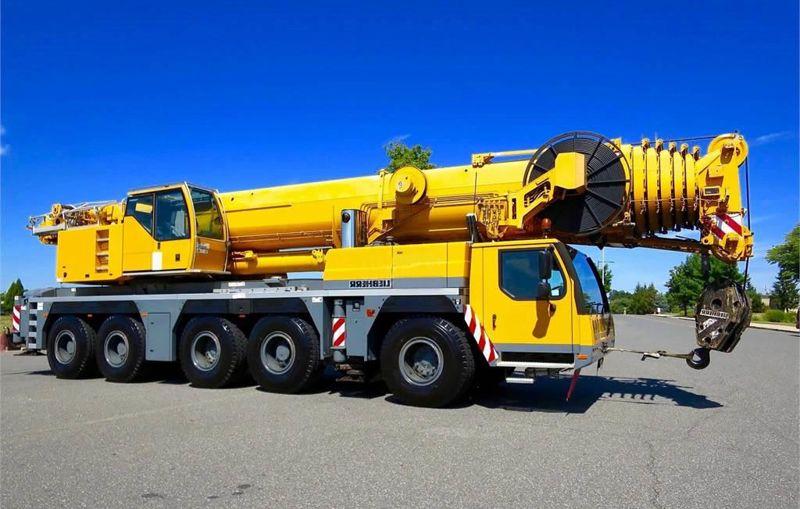 автокран Либхер 1200 тонн