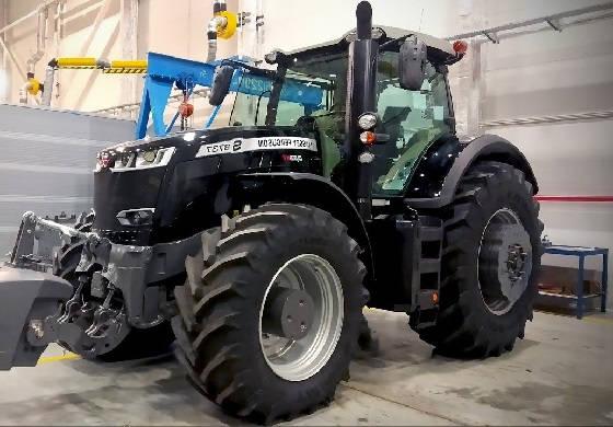 трактор Massey Ferguson 8737S Black Edition