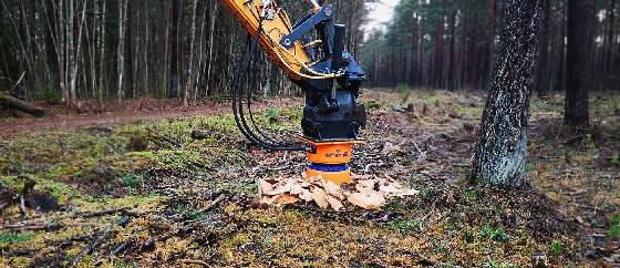 измельчитель пней Dipperfox Stump Grinder 850