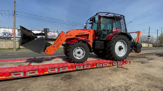 трактор Беларус-2022В3 в лесной защите